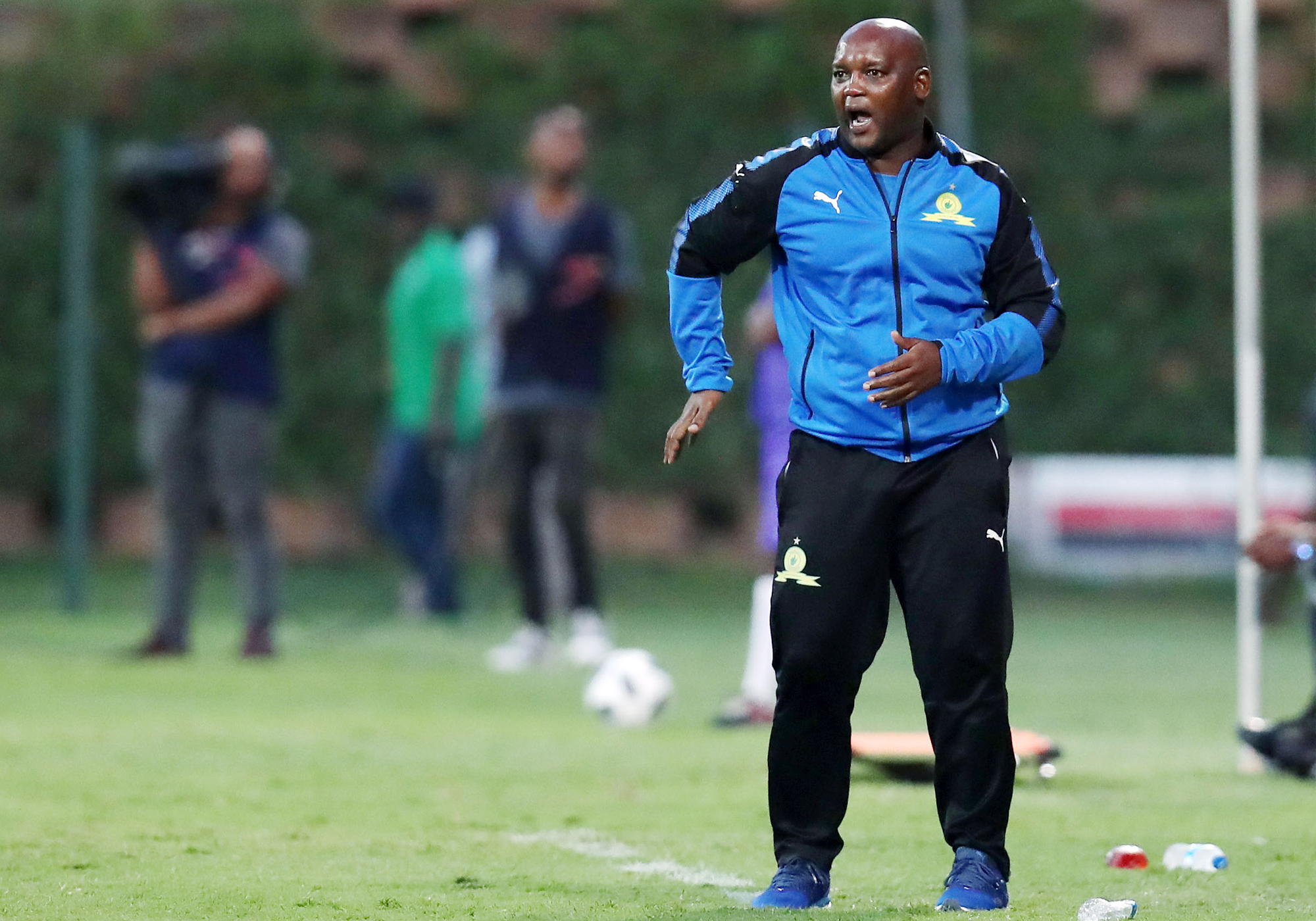 2839680f8cd Mamelodi Sundowns' Caf Champions League campaign started on the good note  with coach Pitso Mosimane receiving an invitation from Caf's President  Ahmad Ahmad ...