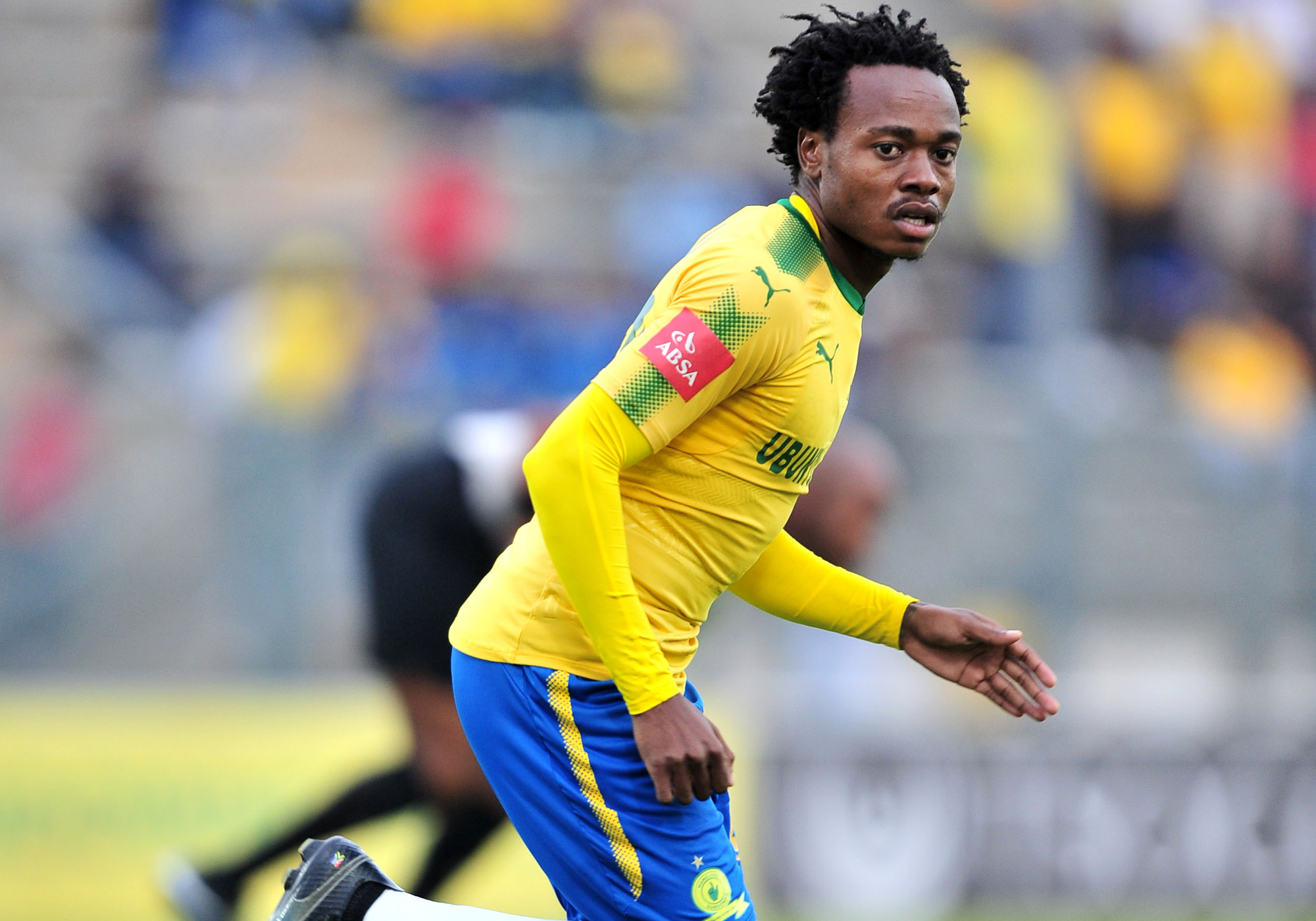 Watch Percy Tau score his first goal in European competition