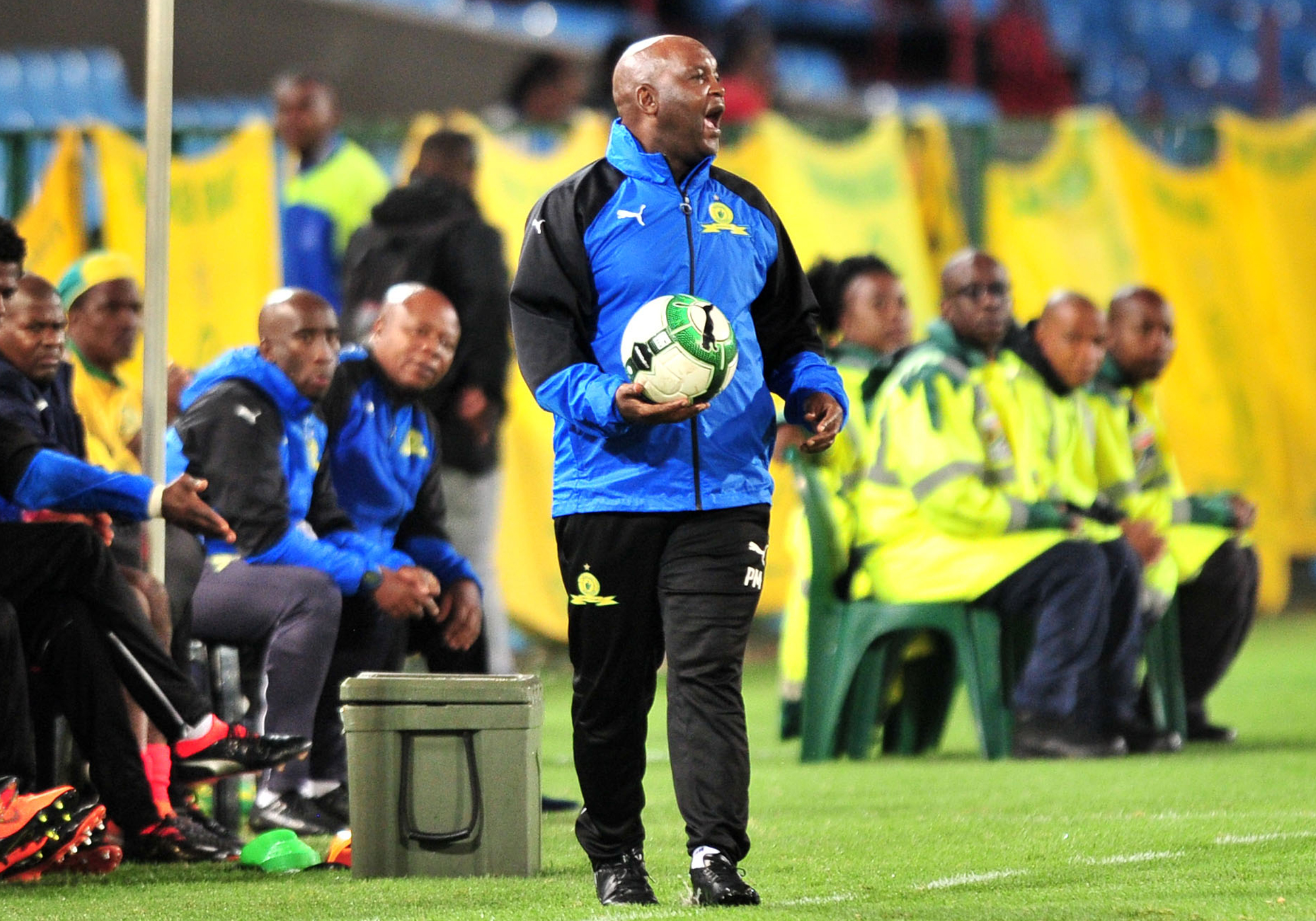 Caf Experience Is Vital Mosimane Mamelodi Sundowns Website Paket Piala Drop Ship Coach Pitso Credited The Teams In Champions League For Their Passage To Group Stage A Third