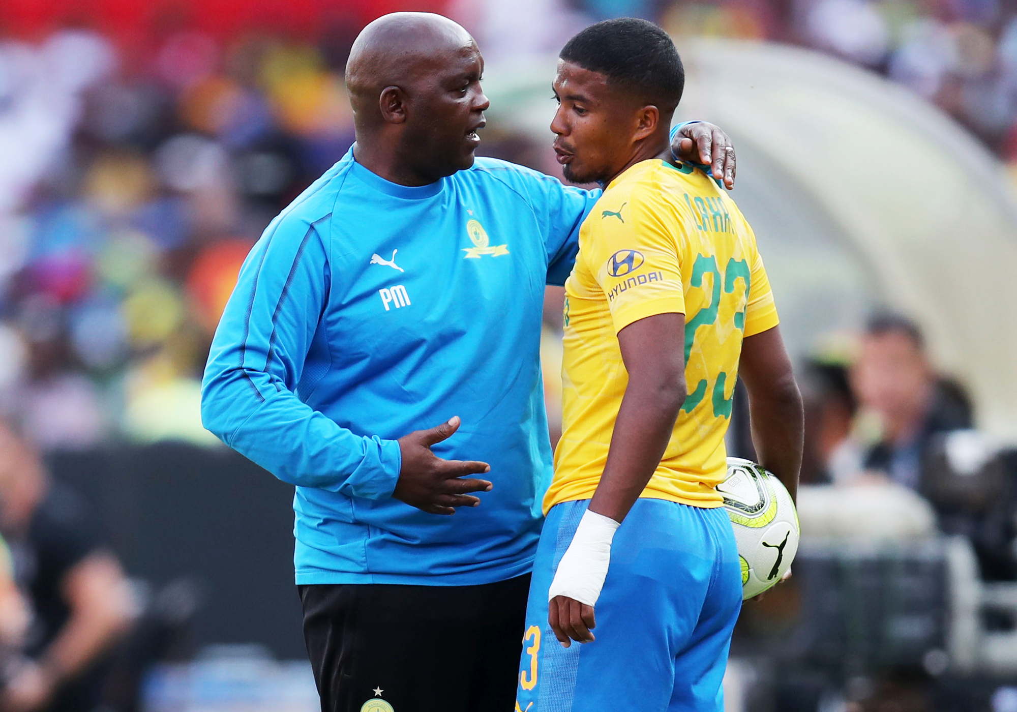 Mosimane Disappointed With Draw, But Happy With Performance