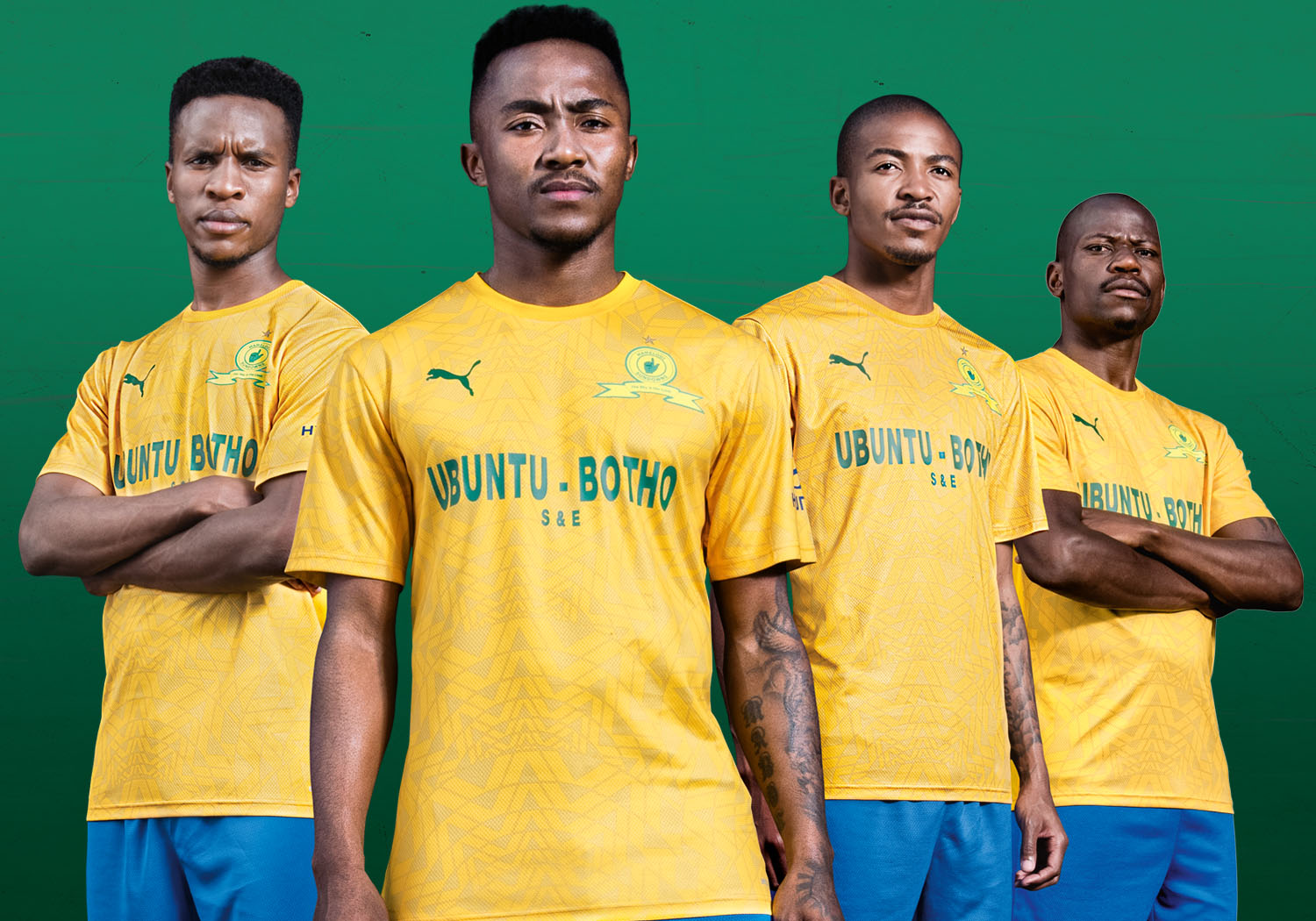 Puma Releases The Under African Sun Kit – Mamelodi Sundowns Website